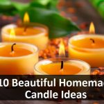 10 Beautiful Homemade Candle Ideas
