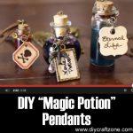"DIY ""Magic Potion"" Pendants"