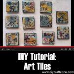 DIY Tutorial: Art Tiles