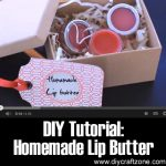 DIY Tutorial: Homemade Lip Butter