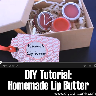 DIY Tutorial - Homemade Lip Butter
