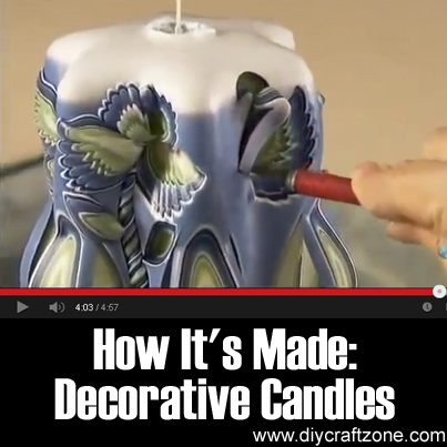How It's Made- Decorative Candles