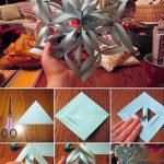 How To Make A Giant 3D Paper Snowflake!
