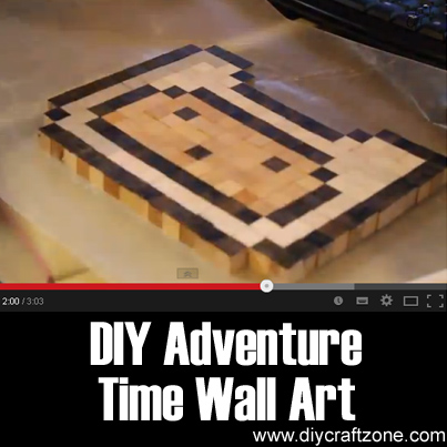 DIY Adventure Time Wall Art