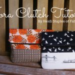 DIY Retro Clutch
