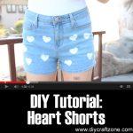 DIY Tutorial: Heart Shorts
