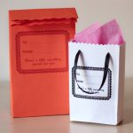 DIY Gift Bags Made From Envelopes