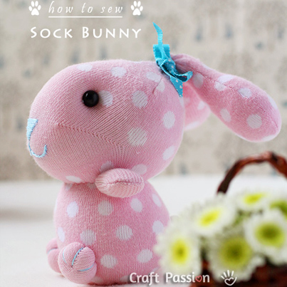 Sock Bunny Sewing Tutorial