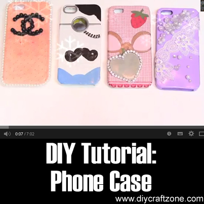DIY Tutorial  - Phone Case
