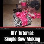DIY Simple Bow Making