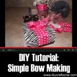 DIY Simple Bow Making