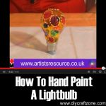How To Hand Paint A Lightbulb