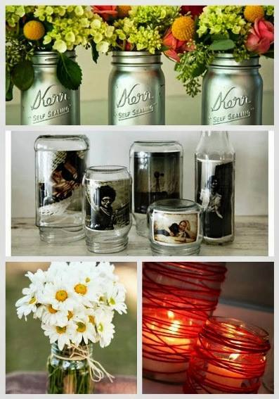 24-Mason-Jar-Vases-Votives-And-Photo-Holder-Ideas