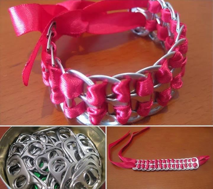 DIY Pop Tab Bracelet