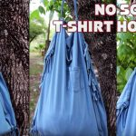 DIY Eco-Friendly Hobo Bag From T-Shirt