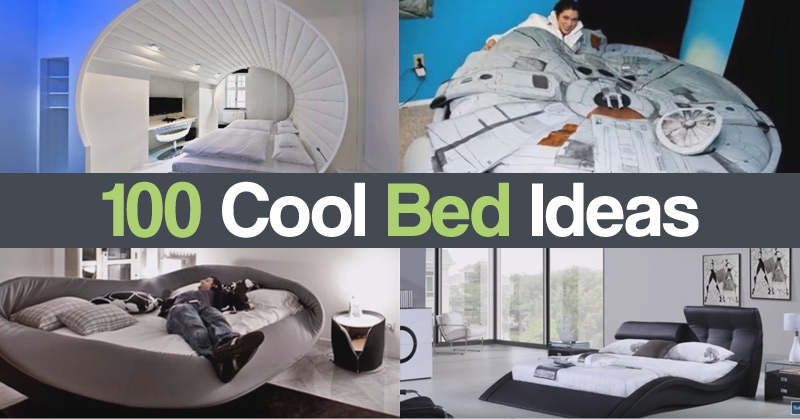 100 Cool Bed Ideas
