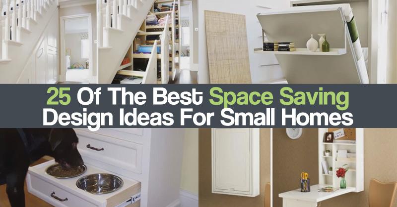 Diy craft zone 25 of the best space saving design ideas for small homes diy craft zone - Space saving ideas for small houses ideas ...