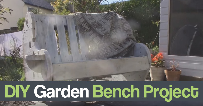 DIY Garden Bench Project