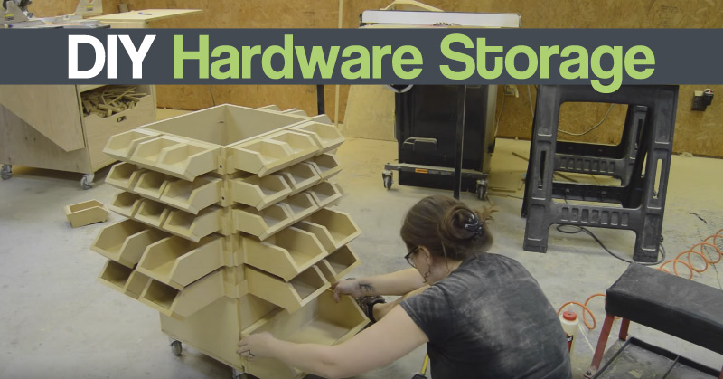 DIY Hardware Storage
