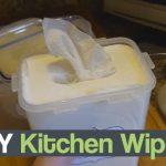 DIY Kitchen Wipes