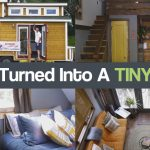 Garage Turned Into A TINY HOUSE- The Rustic Modern