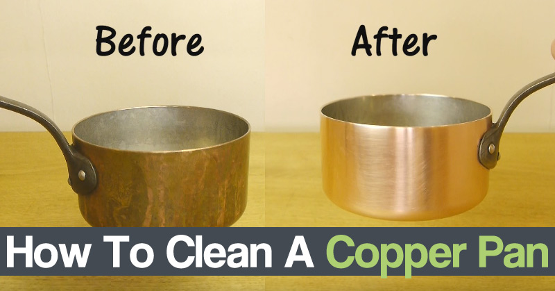 Diy Craft Zone How To Clean A Copper Pan Diy Craft Zone