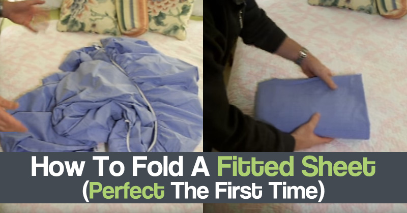 How To Fold A Fitted Sheet (Perfect The First Time)