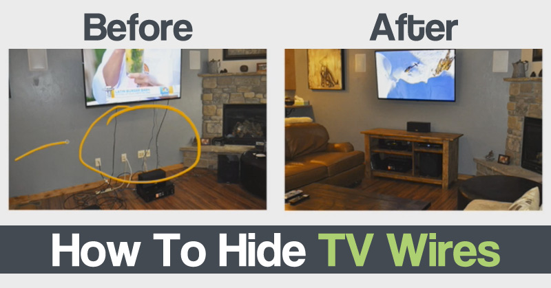 diy craft zone how to hide tv wires diy craft zone. Black Bedroom Furniture Sets. Home Design Ideas