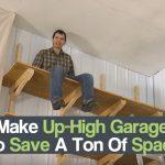 Up-High Garage Shelves