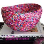 DIY Confetti Vase