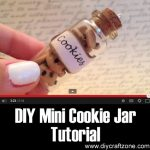 DIY Mini Cookie Jar Tutorial