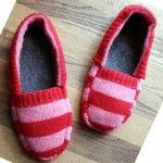 DIY Cozy Slippers From Old Sweater