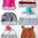 DIY Cute Winter Hats From Old Sweaters