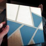 DIY Geometric Art Work