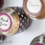 DIY Magnetic Spice Jars