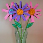 Spring Flower Kids Craft Tutorial