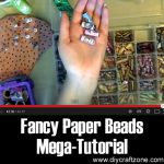 Fancy Paper Beads Mega-Tutorial