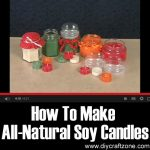 How To Make All-Natural Soy Candles