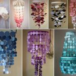 DIY Paint Swatch Chandelier