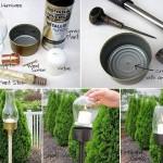 Outdoor Tuna Can Lantern