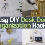 5 Easy DIY Desk Decor & Organization