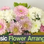 DIY Basic Flower Arrangement