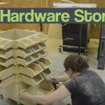 DIY Hardware Storage