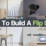 How To Build A Flip Desk